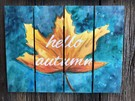 Wooden Sign Painting on 09/26 at Muse Paintbar Gainesville