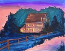 Canvas Painting Class on 02/03 at Muse Paintbar Gaithersburg