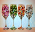 Glassware Painting Event on 02/03 at Muse Paintbar NYC - Tribeca