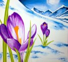 Paint Your Masterpiece on 02/24 at Muse Paintbar Garden City