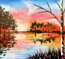 Canvas Painting Class on 04/07 at Muse Paintbar Richmond