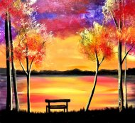 Canvas Painting Class on 11/02 at Muse Paintbar Richmond