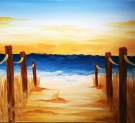 Canvas Painting Class on 07/05 at Muse Paintbar Gaithersburg