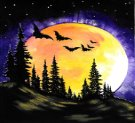 Canvas Painting Class on 10/31 at Muse Paintbar Annapolis