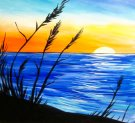 Canvas Painting Class on 07/20 at Muse Paintbar Woodbury