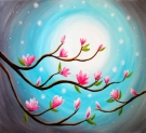 Canvas Painting Class on 04/03 at Muse Paintbar NYC - Tribeca