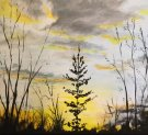 Canvas Painting Class on 04/25 at Muse Paintbar West Hartford