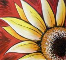Canvas Painting Class on 09/08 at Muse Paintbar Manchester