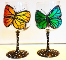 Glassware Painting Event on 03/21 at Muse Paintbar Hingham Shipyard