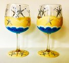 Glassware Painting Event on 06/18 at Muse Paintbar Woodbury