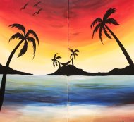 Couple's Paint Night on 07/21 at Muse Paintbar Gaithersburg