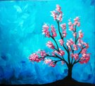 Canvas Painting Class on 04/08 at Muse Paintbar Lynnfield