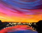 LED Canvas Painting on 02/08 at Muse Paintbar Annapolis