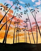Canvas Painting Class on 08/09 at Muse Paintbar Ridge Hill