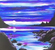 Canvas Painting Class on 07/20 at Muse Paintbar Gaithersburg