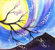 Canvas Painting Class on 10/16 at Muse Paintbar Norwalk