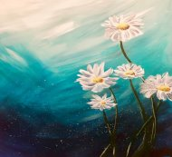 Canvas Painting Class on 03/24 at Muse Paintbar Patriot Place
