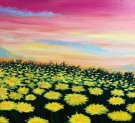 Canvas Painting Class on 08/27 at Muse Paintbar Ridge Hill
