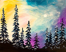 Canvas Painting Class on 01/21 at Muse Paintbar Glastonbury