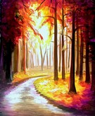 Canvas Painting Class on 11/14 at Muse Paintbar Owings Mills