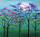 Canvas Painting Class on 03/22 at Muse Paintbar Richmond