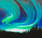 Canvas Painting Class on 04/29 at Muse Paintbar Lynnfield