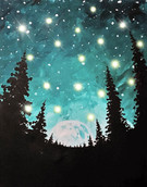 LED Canvas Painting on 01/17 at Muse Paintbar West Hartford
