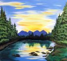 Canvas Painting Class on 05/24 at Muse Paintbar Gainesville