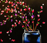 Canvas Painting Class on 11/03 at Muse Paintbar NYC - Tribeca