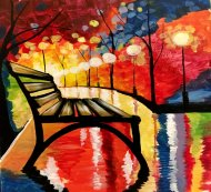 Special Paint & Sip Event on 10/11 at Muse Paintbar White Plains