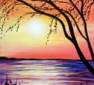 Canvas Painting Class on 03/04 at Muse Paintbar Glastonbury