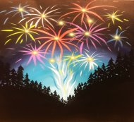 LED Canvas Painting on 12/31 at Muse Paintbar West Hartford