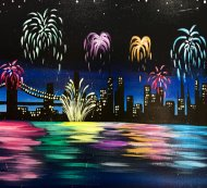 Special Paint & Sip Event on 12/31 at Muse Paintbar NYC - Tribeca