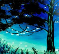 LED Canvas Painting on 09/25 at Muse Paintbar Assembly Row