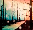 Canvas Painting Class on 02/08 at Muse Paintbar Charlottesville