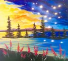 Canvas Painting Class on 03/27 at Muse Paintbar Providence