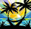 Canvas Painting Class on 06/24 at Muse Paintbar Patriot Place
