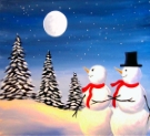 Canvas Painting Class on 12/29 at Muse Paintbar West Hartford