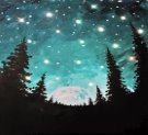 LED Canvas Painting on 01/16 at Muse Paintbar Charlottesville