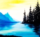 Canvas Painting Class on 09/08 at Muse Paintbar Lynnfield