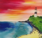 Canvas Painting Class on 05/09 at Muse Paintbar Virginia Beach