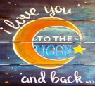 Wooden Sign Painting on 05/05 at Muse Paintbar West Hartford