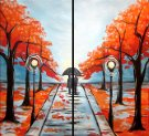 Couple's Paint Night on 11/16 at Muse Paintbar Lynnfield