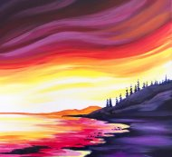 Canvas Painting Class on 04/01 at Muse Paintbar Lynnfield