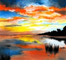 Canvas Painting Class on 05/14 at Muse Paintbar Virginia Beach
