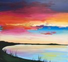 Canvas Painting Class on 05/28 at Muse Paintbar Glastonbury