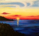 Canvas Painting Class on 05/03 at Muse Paintbar Glastonbury