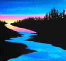 Canvas Painting Class on 04/12 at Muse Paintbar Lynnfield