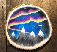 Wooden Sign Painting on 06/21 at Muse Paintbar Glastonbury