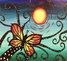 Canvas Painting Class on 03/25 at Muse Paintbar Annapolis